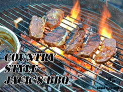 Ricetta Country Style Jack 's Barbecue   Per gustose costolette o bistecche di maiale