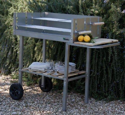 scegliere il barbecue a legna