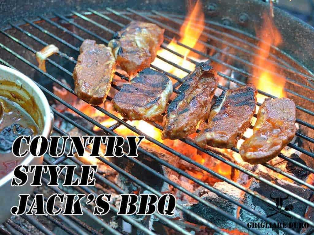 Ricetta Country Style Jack 's Barbecue | Per gustose costolette o bistecche di maiale