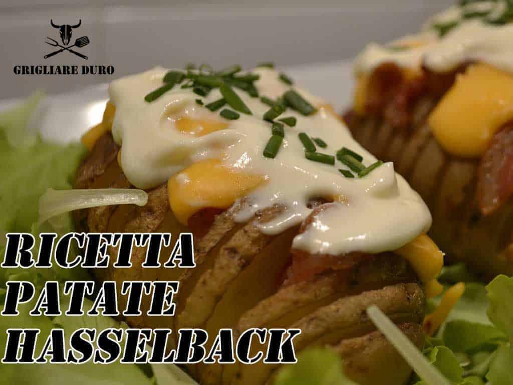 Ricetta Patate Hasselback
