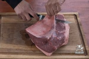 picanha trimming
