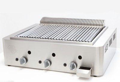 Grill inox barbecue il nuovo barbecue a gas professionale - Cucinare con la pietra lavica ...