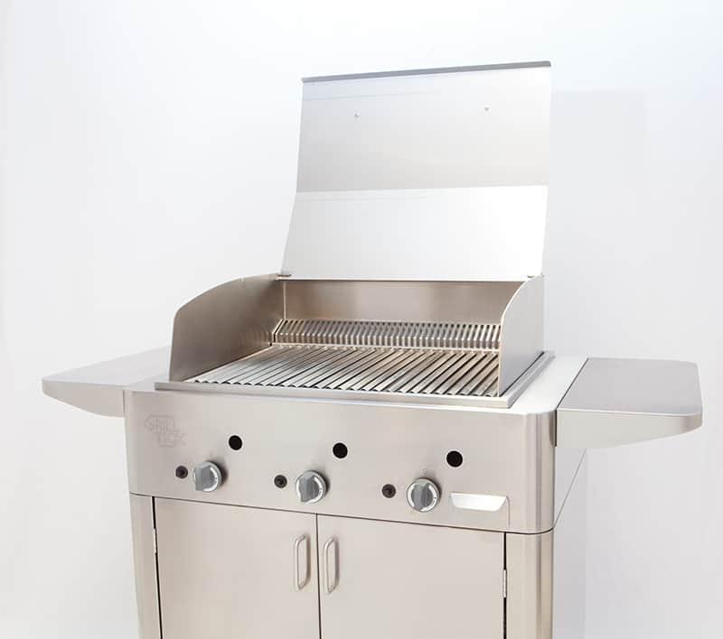 grill inox barbecue il nuovo barbecue a gas professionale. Black Bedroom Furniture Sets. Home Design Ideas
