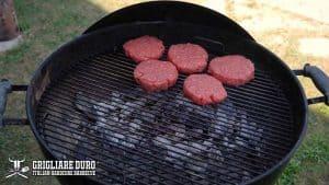 temperatura hamburger griglia