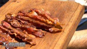 bacon grigliato