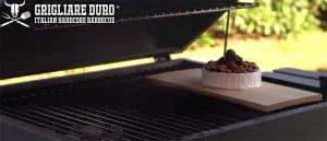 formaggio griglia camembert placca cedro