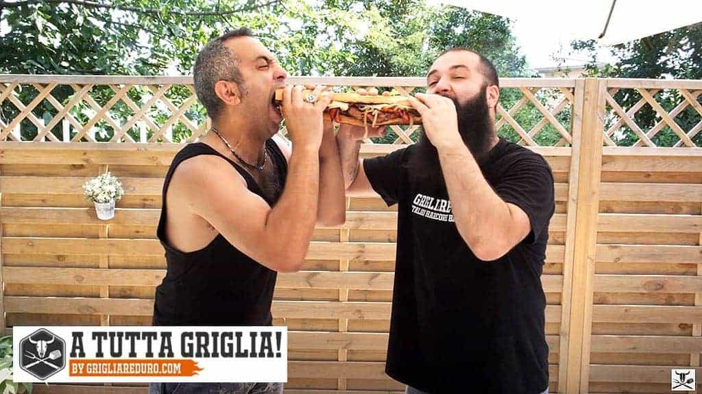 Panino con salamella by GrigliareDuro