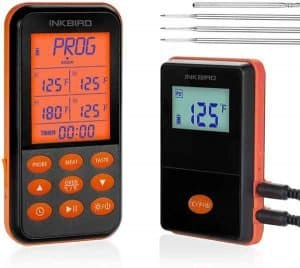 Inkbird IRF-4S Termometro per Barbecue Impermeabile Wireless