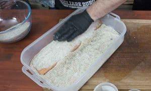 salmone affumicato salamoia