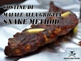 Ricetta costine di maiale alla griglia e Snake Method