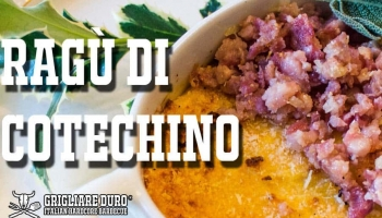 Ragù di Cotechino alla Griglia | Barbecue senza confini