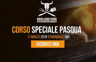 Corso BBQ speciale pasqua 11 marzo