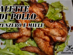 Ricetta: Alette di pollo marinate allo zanzero e miele