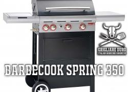 Barbecook Spring 350 – Un BBQ a gas con le palle