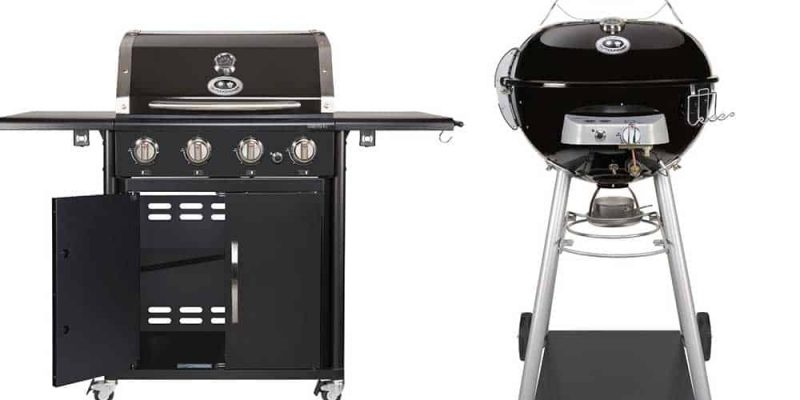 Barbecue a gas outdoorchef | Tondi o quadrati e pronti alla guerra
