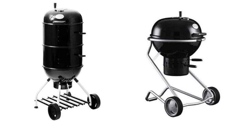 Barbecue Roesle a carbonella   Dalla germania Rösle con arroganza