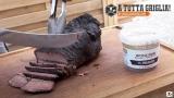 Cappello del prete arrosto al barbecue