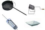 Caldarroste   Accessori per fare le castagne sul barbecue