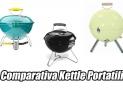 Barbecue portatile tondo | La triade dei piccoli tondi