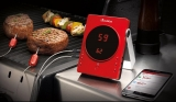 Termometro Bluetooth GrillEye | capo griglia con il telefonino