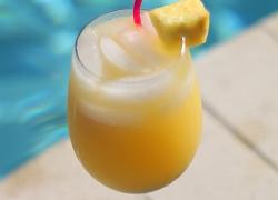 Mimosa Cocktail affumicato