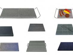 Pietra lavica per cucinare | Piastre in pietra lavica per Barbecue o fornelli