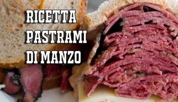 Ricetta Pastrami di Manzo   dalla Genesi alla Ricetta Pastrami definitiva
