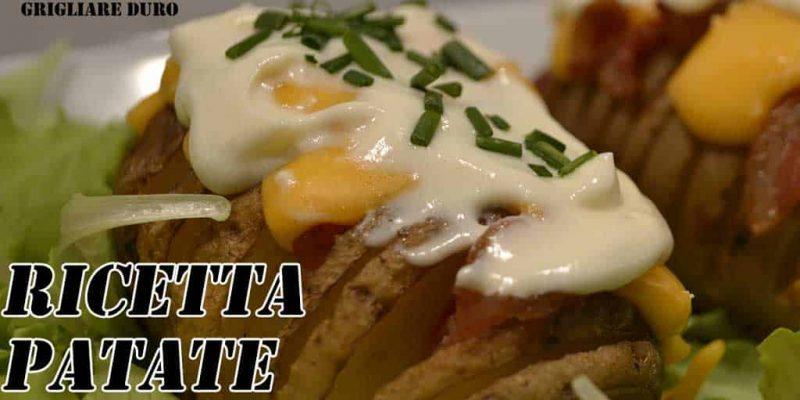 Ricetta Patate Hasselback | A chi non piace la patata?
