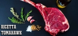 Tomahawk bistecca nella roccia | Tomahawk carne di sublime prelibatezza